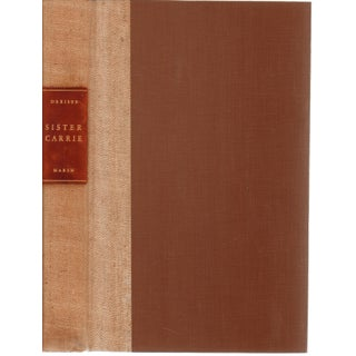 Sister Carrie by Theodore Dreiser Hardcover Book