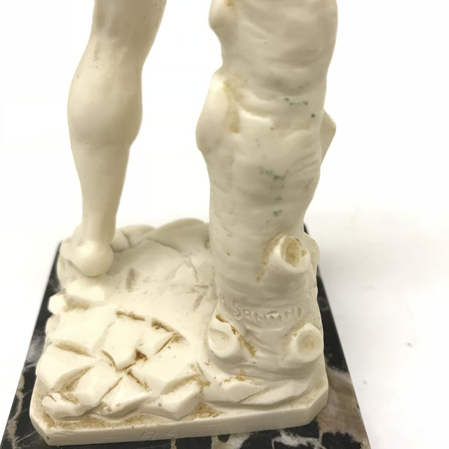 A. Santini Michelangelo's David Figure For Sale - Image 4 of 6