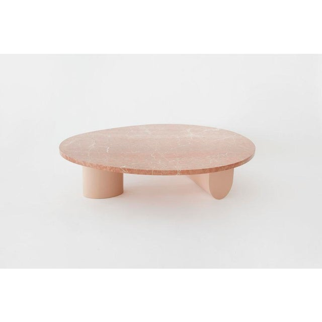 Not Yet Made - Made To Order Egg Collective Isla Coffee Table - W/ Stone Top For Sale - Image 5 of 5