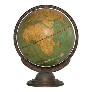 Mid-Century Green Globe For Sale
