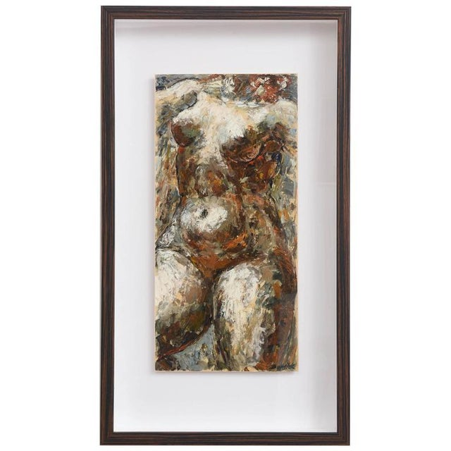 White Charles J. Burdick (American, B. 1924) Female Nude, Acrylic on Paper, 1970s For Sale - Image 8 of 8