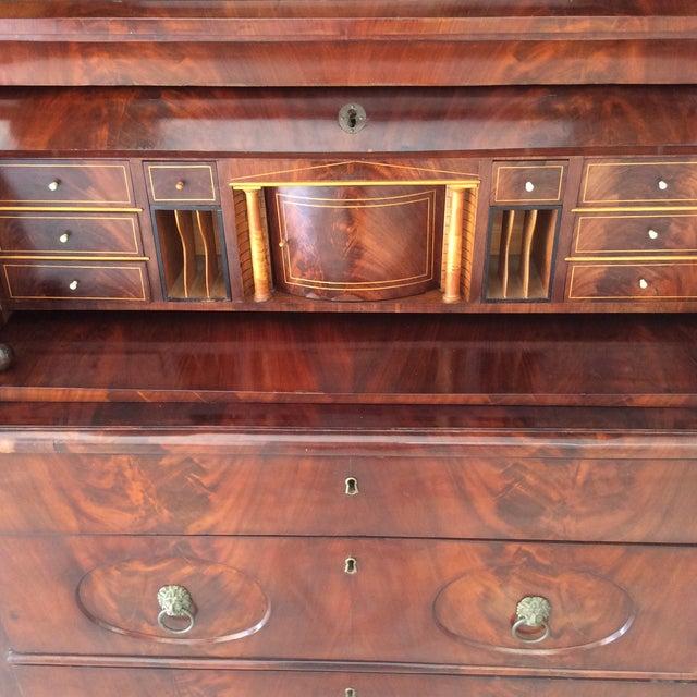 Biedermeier Secretary Desk For Sale - Image 10 of 11
