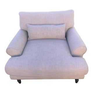 Interior Define Maxwell Beige Armchair For Sale