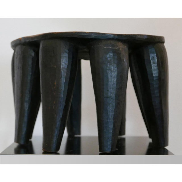 Nigerian Nupe Stool For Sale - Image 4 of 7