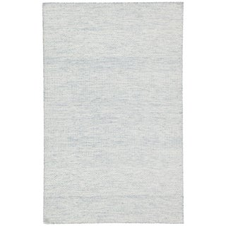Jaipur Living Glace Handmade Geometric Light Blue/ Ivory Area Rug - 2′ × 3′ For Sale
