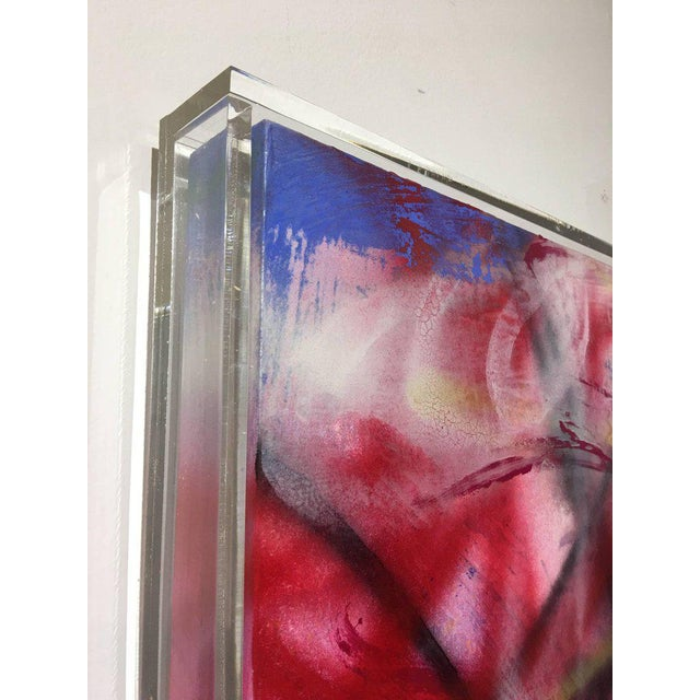 """Abstract Expressionism Contemporary Abstract Oil Painting """"Unfolding Path"""" by Mirtha Moreno For Sale - Image 3 of 11"""