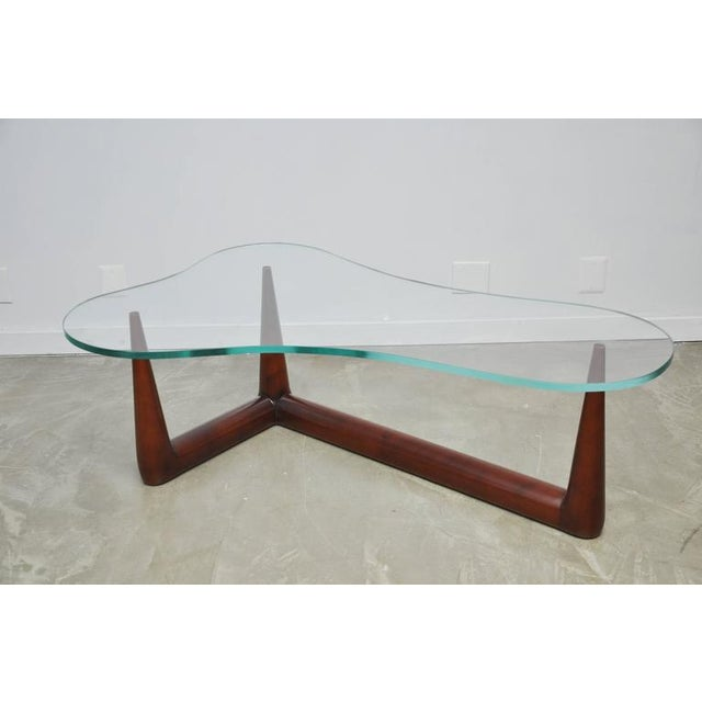 Biomorphic Coffee Table by T.H. Robsjohn Gibbings for Widdicomb - Image 5 of 6