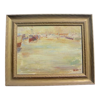 San Francisco Bay Modernism Painting For Sale