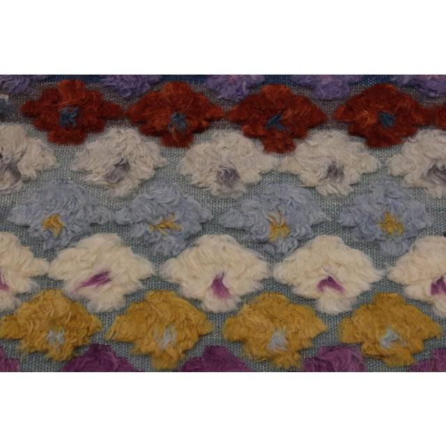 Shabby Chic Moroccan High-Low Pile Albertin Wool Rug - 8′6″ × 10′2″ For Sale In New York - Image 6 of 8