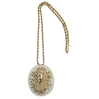 Ciner Pendant Necklace For Sale