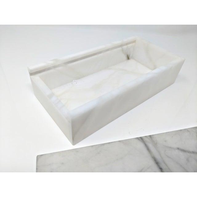Hermes Inspired Alabaster Box For Sale - Image 10 of 12