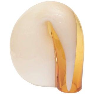 Italian Murano Vistosi Glass Lamp For Sale