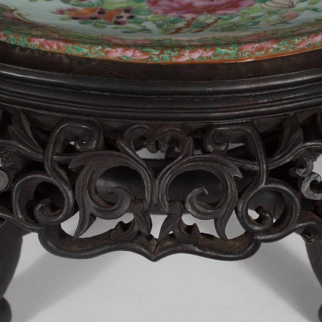 """Important """"Mandarin"""" Style Rose Medallion Chinese Export Ceramic Bowl For Sale In New York - Image 6 of 11"""