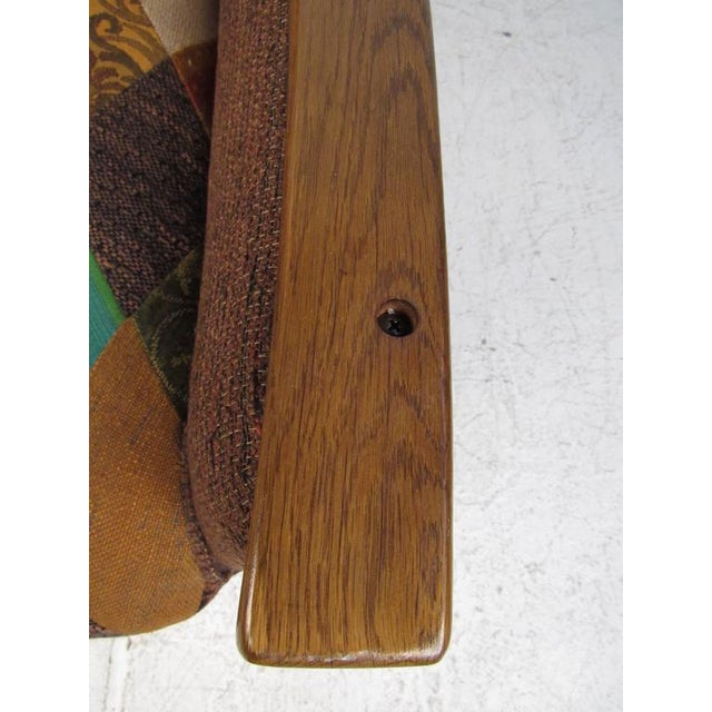 Rustic Wine Cask Loveseat For Sale - Image 9 of 9