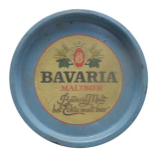 Vintage Bavaria Maltbier Serving Tray For Sale