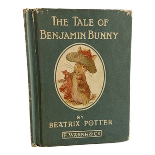 1932 The Tale of Benjamin Bunny Beatrix Potter Book For Sale