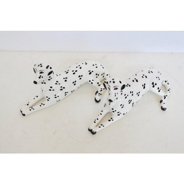 Italian Porcelain Dalmatian Figurines - A Pair - Image 4 of 6