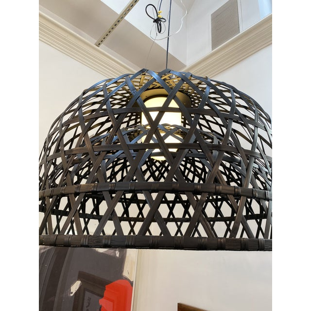 Wood Moooi Emperor Suspension Lamp For Sale - Image 7 of 8