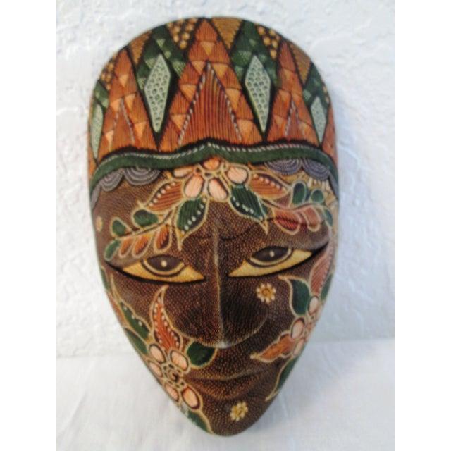 Ornate Decorative Hanging Masks - S/3 - Image 6 of 9