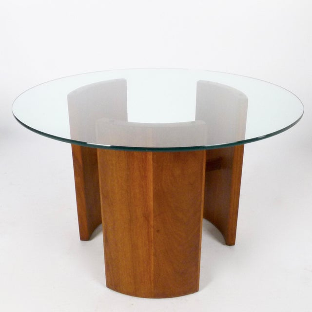 "Mid-Century Modern Vladimir Kagan ""Radius"" Tables - a Pair For Sale - Image 3 of 5"