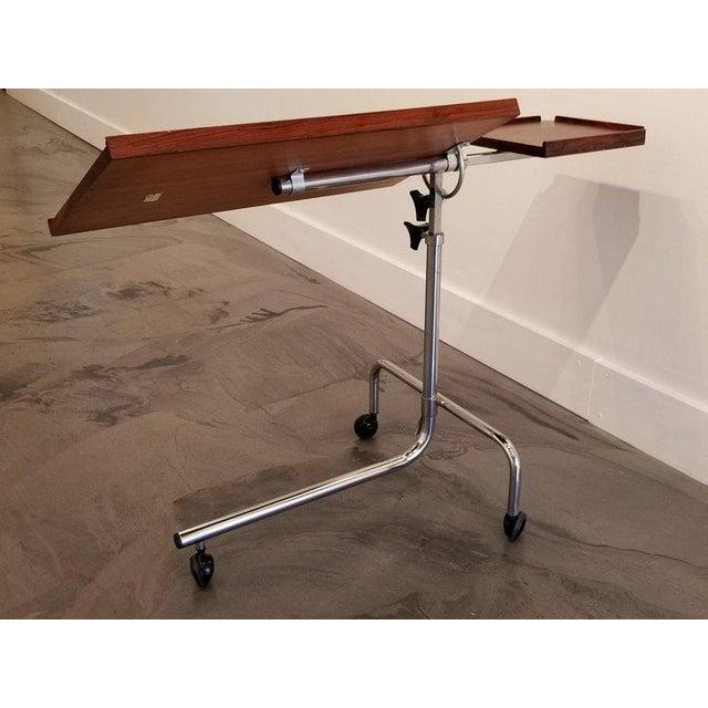 Danecastle Aps Rosewood Adjustable Bedside Desk or Table For Sale In San Francisco - Image 6 of 13