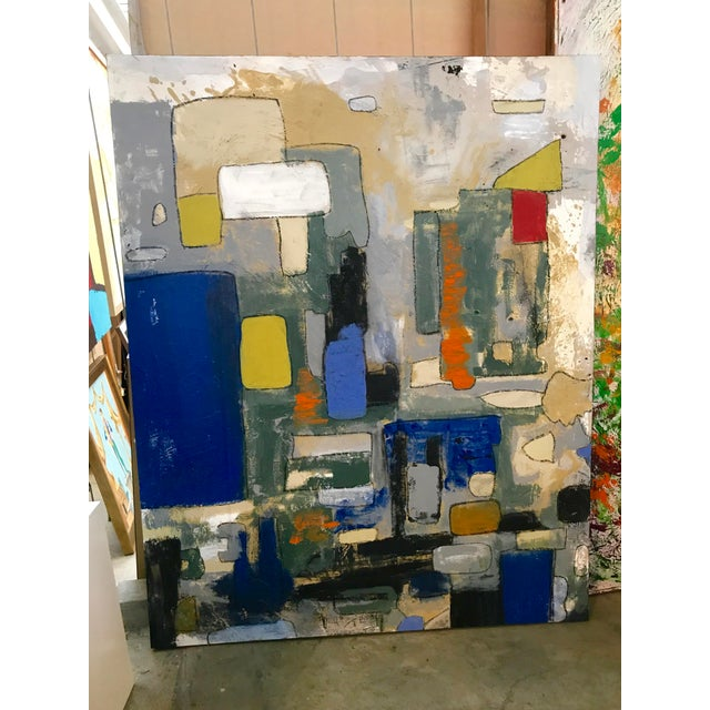 Abstract by Noted Palm Springs Artist Jeff King For Sale - Image 9 of 9