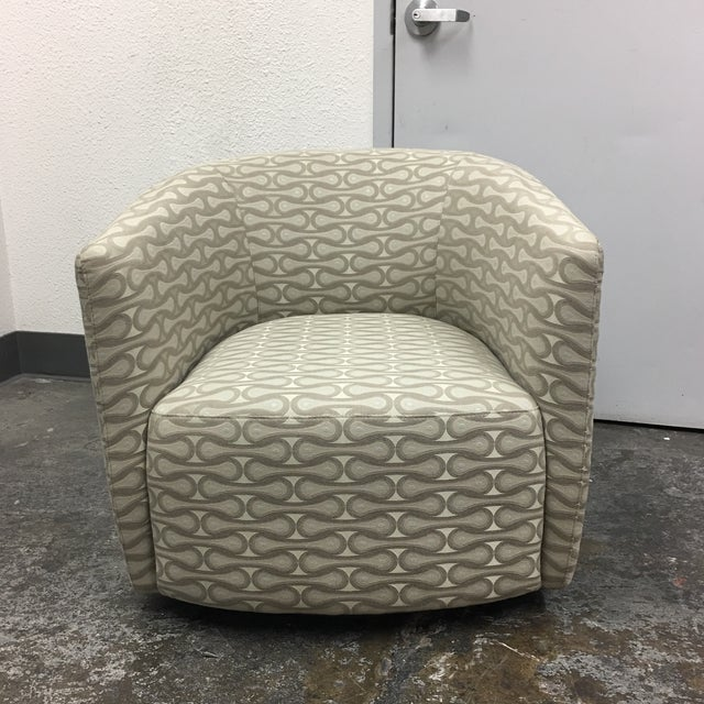 Design Plus Gallery has a Mila Chair by Della Robbia. The Mila swivel chair by Della Robbia is a modern version of the...