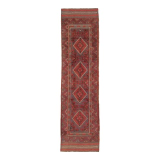 "Afghan Tribal Hand-Knotted Wool Rug-2'0"" X 8'0"" For Sale"