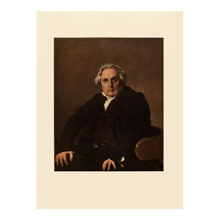 "1951 Ingres ""Monsieur Bertin"", First Edition Neoclassical Parisian Photogravure For Sale"