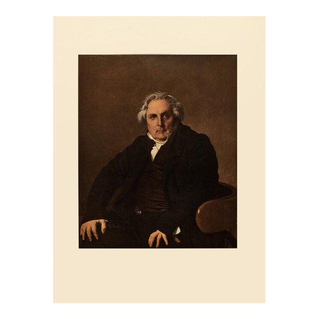"1951 Ingres ""Monsieur Bertin"", First Edition Neoclassical Parisian Photogravure For Sale"
