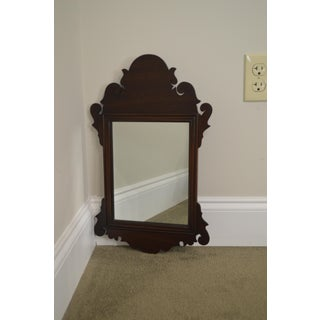 Henkel Harris Mahogany Chippendale Style Small Mirror Preview