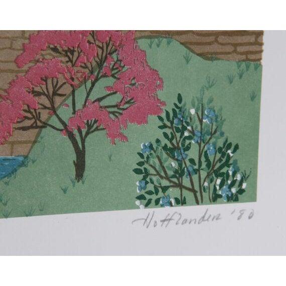 "Jack Hofflander, ""Up, Up and Away,"" Serigraph - Image 2 of 2"
