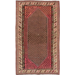 "Apadana - Vintage Persian Kilim Rug, 5'8"" x 9'2"" For Sale"