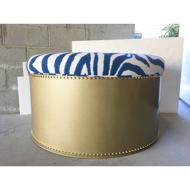 """Contemporary Taylor Burke Home 36"""" Ottoman For Sale - Image 3 of 3"""