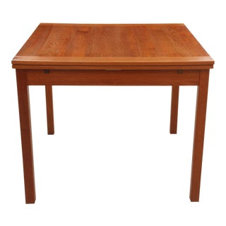 Danish Modern Teak Game Table