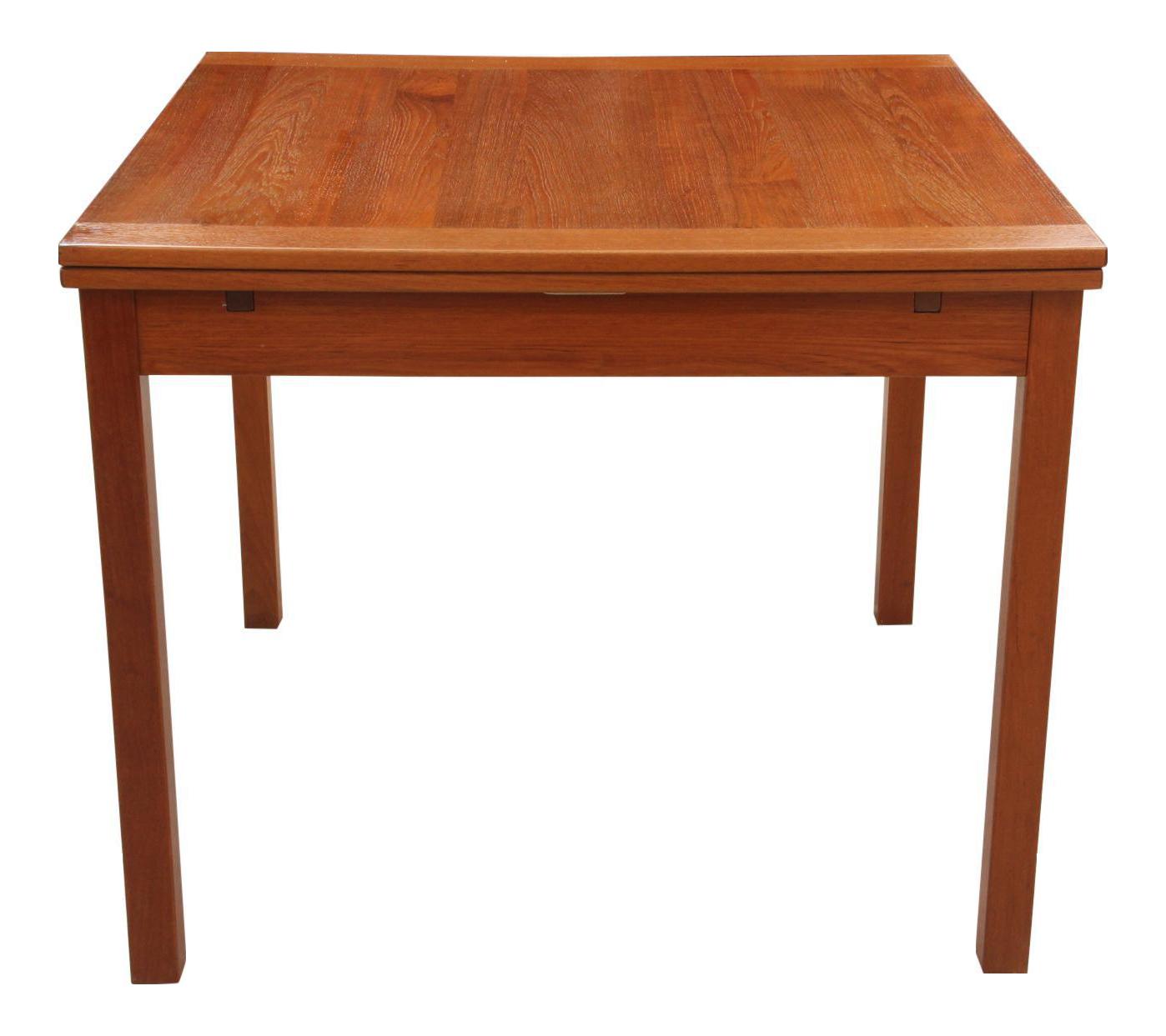 Danish Modern Teak Game Table