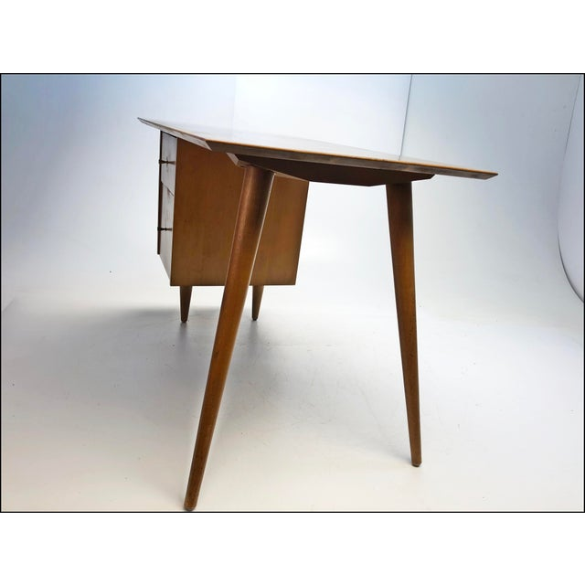 """Winchendon Furniture """"Planner Group"""" Mid Century Modern Paul McCobb Planner Group Desk & Chair For Sale - Image 4 of 13"""