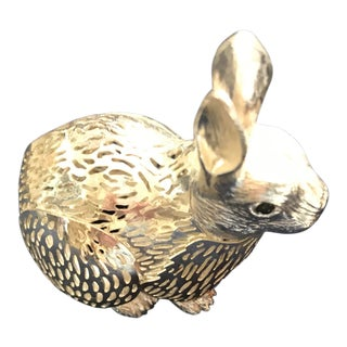 1990's Vintage Christofle Rabbit For Sale