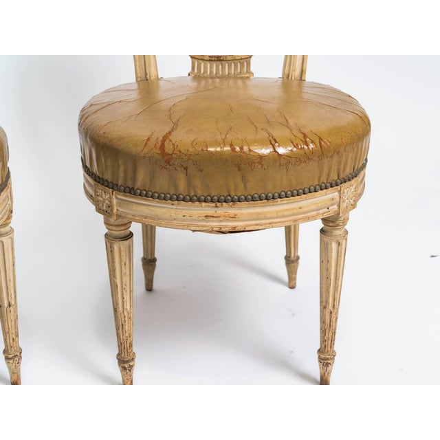 1920s Vintage French Hot Air Balloon Side Chairs- a Pair For Sale In New York - Image 6 of 8