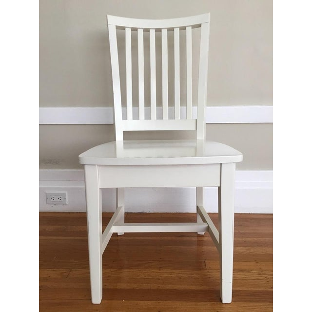 Pottery Barn Kids White Side Chair - Image 2 of 5