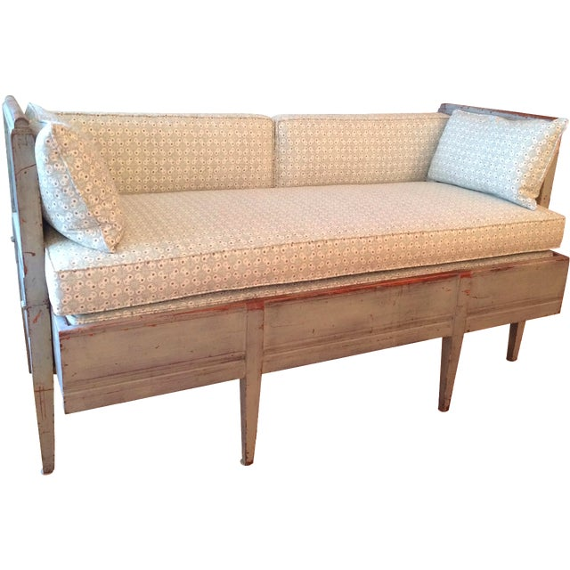 Antique Gustavian Daybed - Image 1 of 11