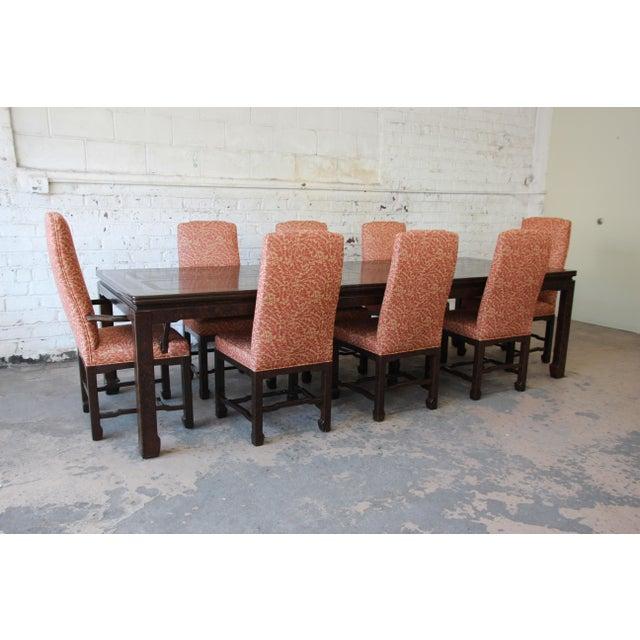 Mario Buatta For John Widdicomb Chinoiserie Dining Chairs