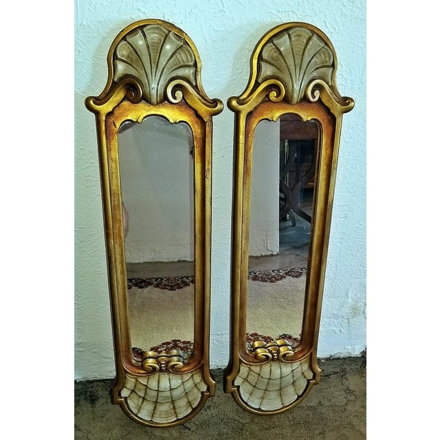 Early 20c Pair of Pier Mirrors by Thorvald Strom For Sale - Image 11 of 14