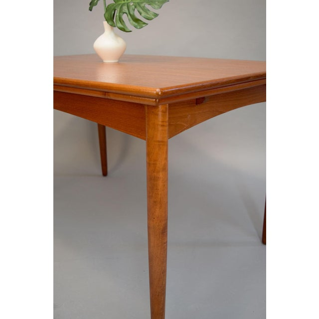 1960s Danish Teak Dining Table - Image 5 of 11