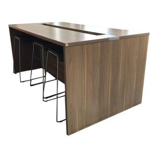 Modern Turnstone Brown Bar Table