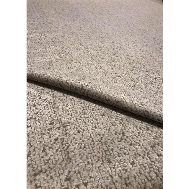 2010s Mokum Astoria - Transitional Linen Imported Designer Upholstery Velvet Fabric - 16 Yards For Sale - Image 5 of 6