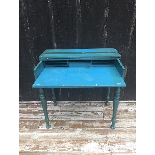 Vintage Secretary Desk For Sale - Image 6 of 13