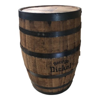 George Dickell Tennessee Whiskey Barrel - Full Size For Sale