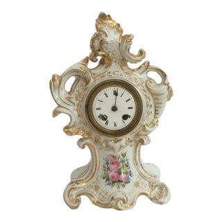 Antique Paris Porcelain Clock