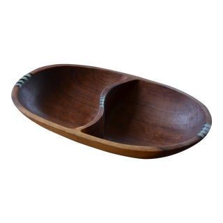 Kenyan Olive Wood Sectioned Bowl